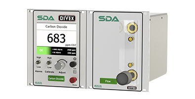 Divex SDA CO2 analyser