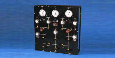 Divex 2 diver and standby air/mixed gas panel