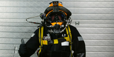 Commercial dive gear