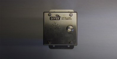 Diving bell comms box