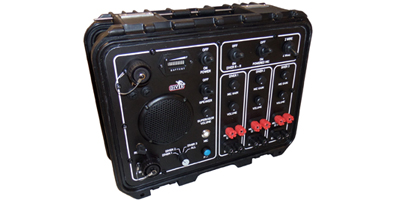 3 channel diver radio communications